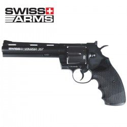 "Revolver SWISS ARMS 357-6"" 4,5 mm CO2 (colt pyton)"