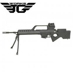 G608 Sniper SL8 con visor 3X y Red Dot Jing Gong 1538