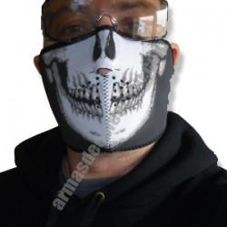 Tapabocas Skull