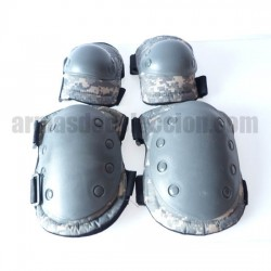 airsoft knee and elbow pads ACU