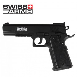 SWISS ARMS Match 4.5 mm funcionamento CO2