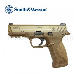 S&W M&P9 Pistola 6MM Metal Slide Color Tan Gas