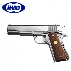 Tokyo Marui Colt Gov MarkIV Series'70 Pistola 6MM Nickel Finish Gas BLOW BACK