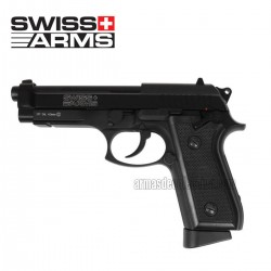 Swiss Arms P92 Pistola 4.5 MM CO2 Full Metal y BlowBack