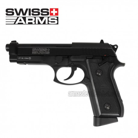 SWISS ARMS P92 4.5 mm CO2 FULL METAL E BLOW BACK