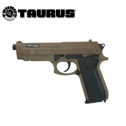 Taurus PT92 Pistola 6MM Muelle corredera metálica Tan