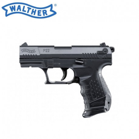 Walther P22 Oficial e dois carregadores (Funcionamento a mola)