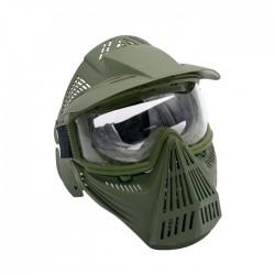 Máscaras com tela de proteção (Od verde)