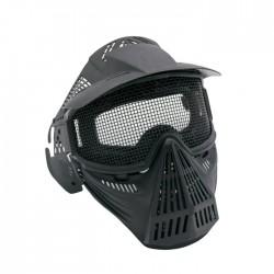 Máscaras con Rejilla de Proteccion (Negra)