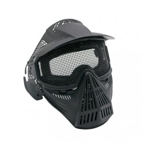 Máscaras con Pantalla de Proteccion (Negra)