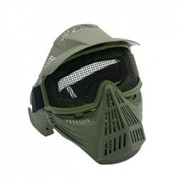 Máscaras con Rejilla de Proteccion (Verde Od)