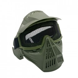 Masks with Protection Grid (Green Od)