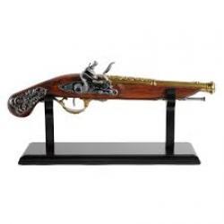 Soporte de pie 32 cm largo para pistolas