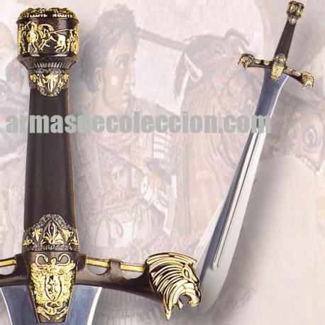 Espada de cerimônia de Alexandre, o Grande