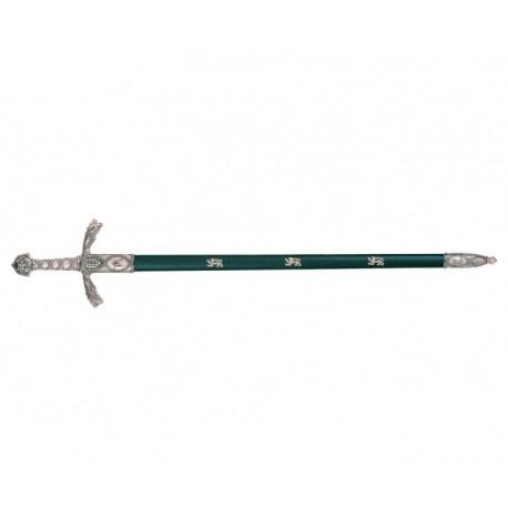 Espada de Ricardo Corazón de León, siglo XII