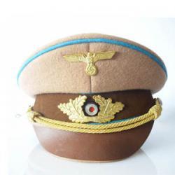 Chapéu de Oficial alemão. Chefe político III Reich