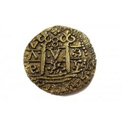 Gold doublon Felipe II, 1556-1598