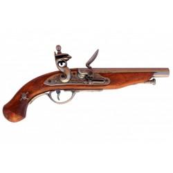Pistola de pirata francês, século XVIII
