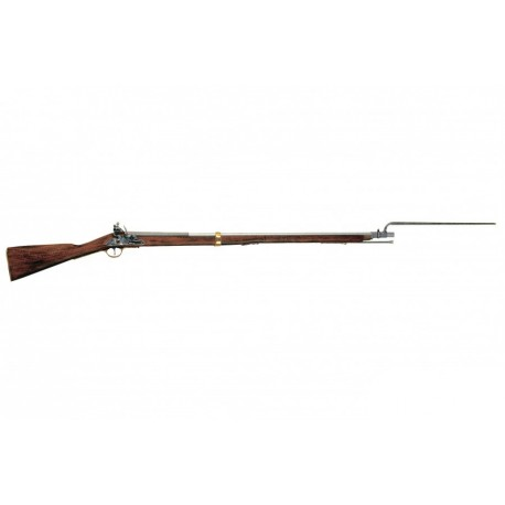 """British """"Brown Bess"""" musket used in Napoleonic Wars (1799-1815)"""