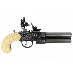 Pistola de chispa, Reino Unido siglo XVIII