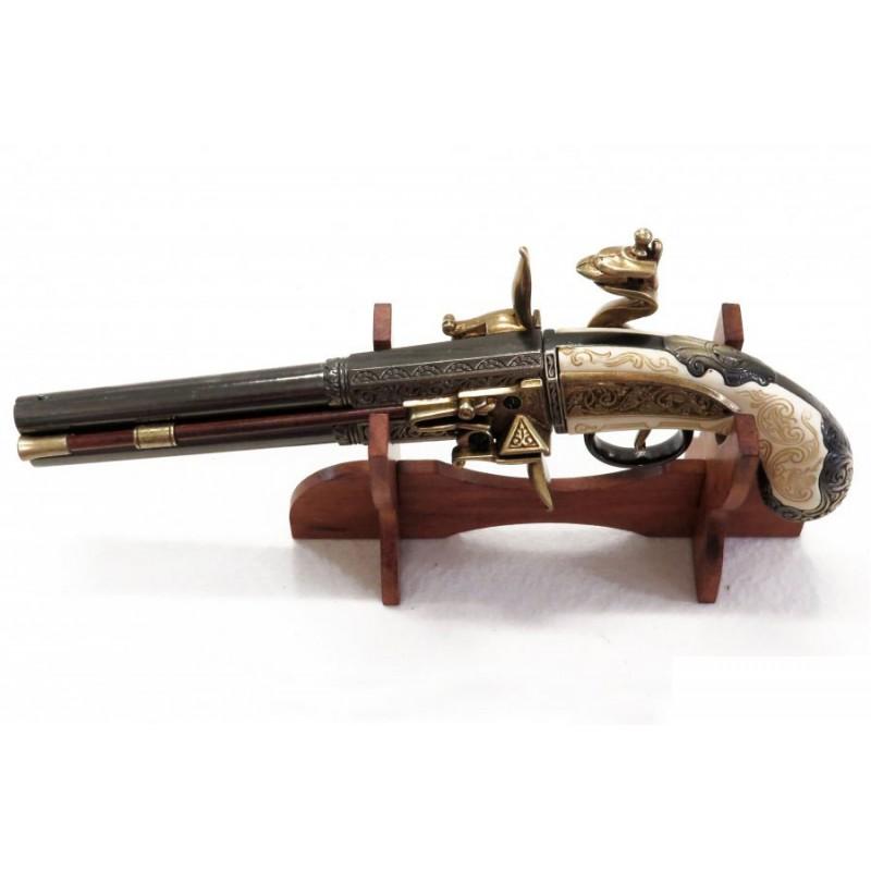 Pistola De 2 Cañones Giratorios