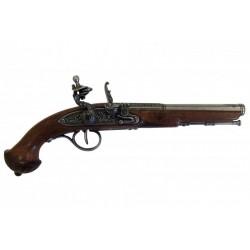 Pistola de chispa, siglo XVIII