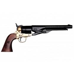 Revolver Colt Army da guerra civil dos EUA.