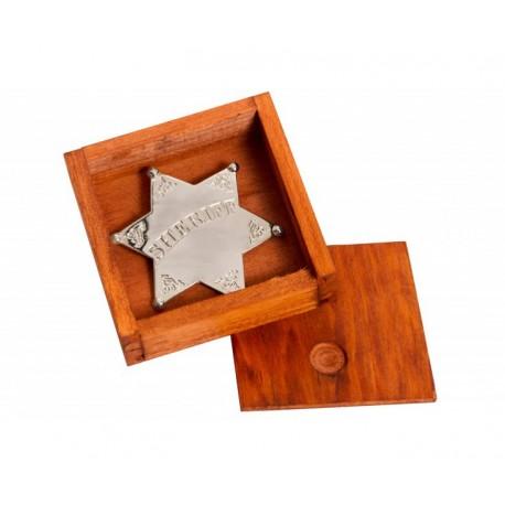 Estrella de Sheriff con caja