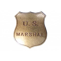 Placa de US Marshal