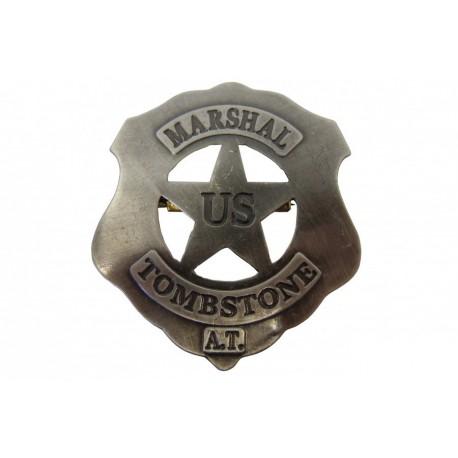 U.S Marshall Tombstone badge