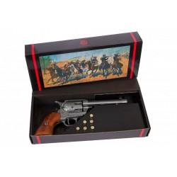 """Revólver Cal.45 Peacemaker 5½"""", con 6 balas, USA 1873"""
