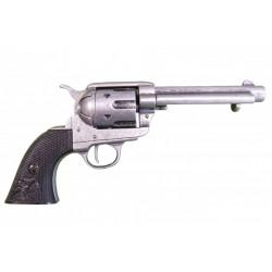 """Revólver Cal.45 Colt Peacemaker 5½"""". cachas ébano"""
