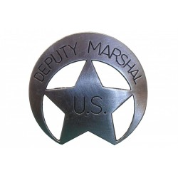 badge US deputy marshal