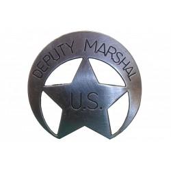 Placa de ajudante de Sheriff