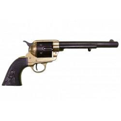 "45 caliber Peacemaker revolver 7½"". ebony grips"