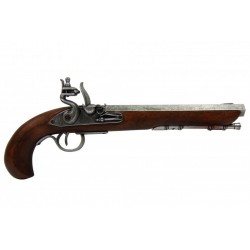 Pistola Kentucky, EUA s.XIX. prata