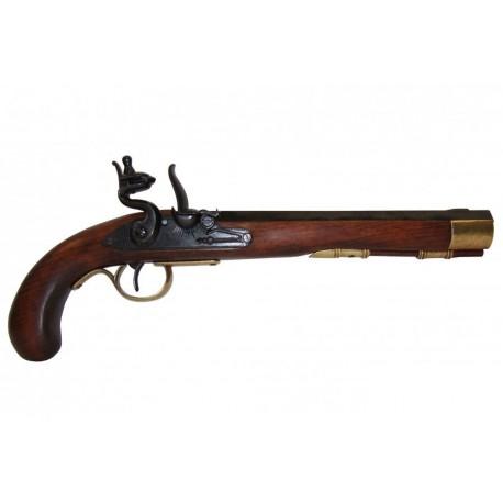 Pistola Kentucky, EUA s.XIX. 2 ouro