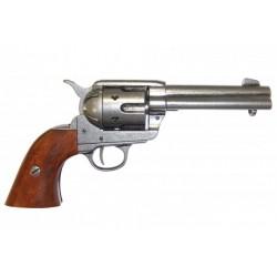Revólver Colt 45 Peacemaker Plata