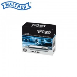 Capsules Cleaning Walther Co2 & Oil 5 Units 12Gr