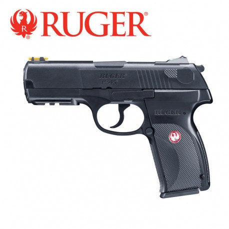 Pistola semiautomatica airsoft Ruger P345 6mm Co2. 2 Julios de potencia.