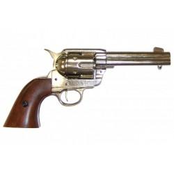 Revólver Colt 45 Peacemaker Níquel