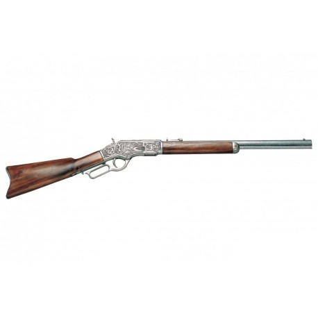 "Rifle ""Winchester 73 manufactured by Winchester, caliber 44-40,"