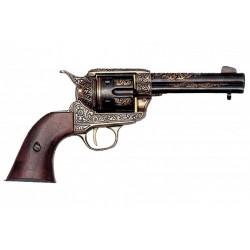 Revólver calibre 45 fabricado pela Colt