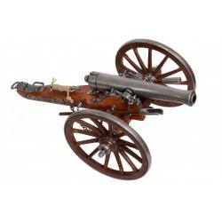 Cañón Guerra Civil USA 1861.