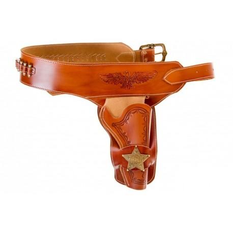 Canana de piel para un revólver
