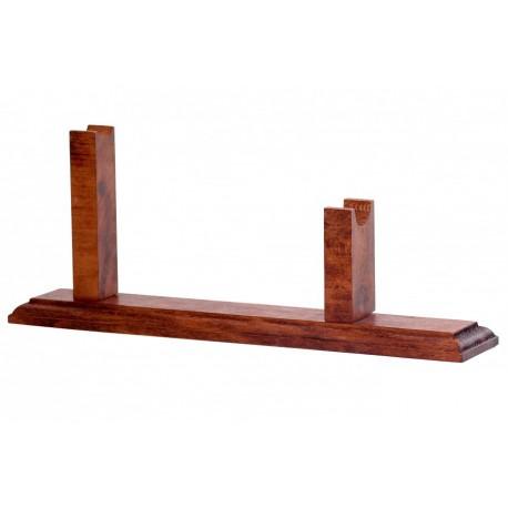 Soporte madera para revolveres
