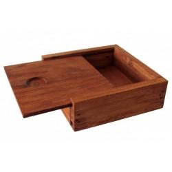 Caja de madera para insignias