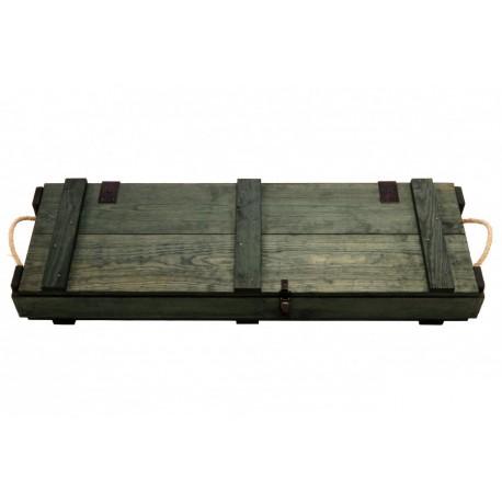 Caja de madera para armas