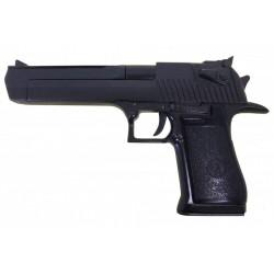 pistola semi-automática, calibre .357, .44 e .50. Preto