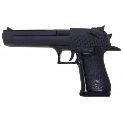 Semiautomatic pistol, caliber .357, .44, .50. Black